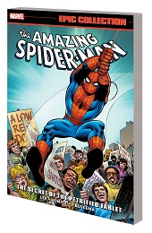 The Amazing Spider-Man: The Secret of the Petrified Tablet TP