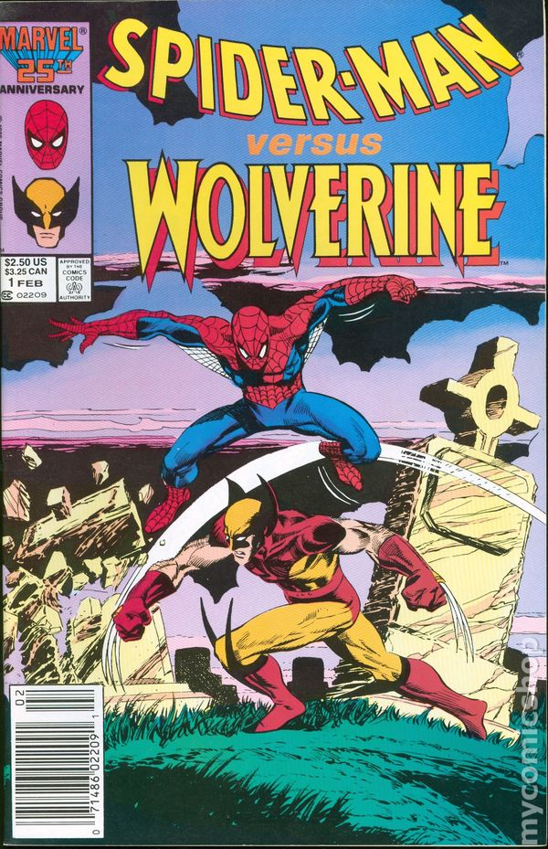 Spider-Man vs Wolverine (1987) (One Shot) - Used
