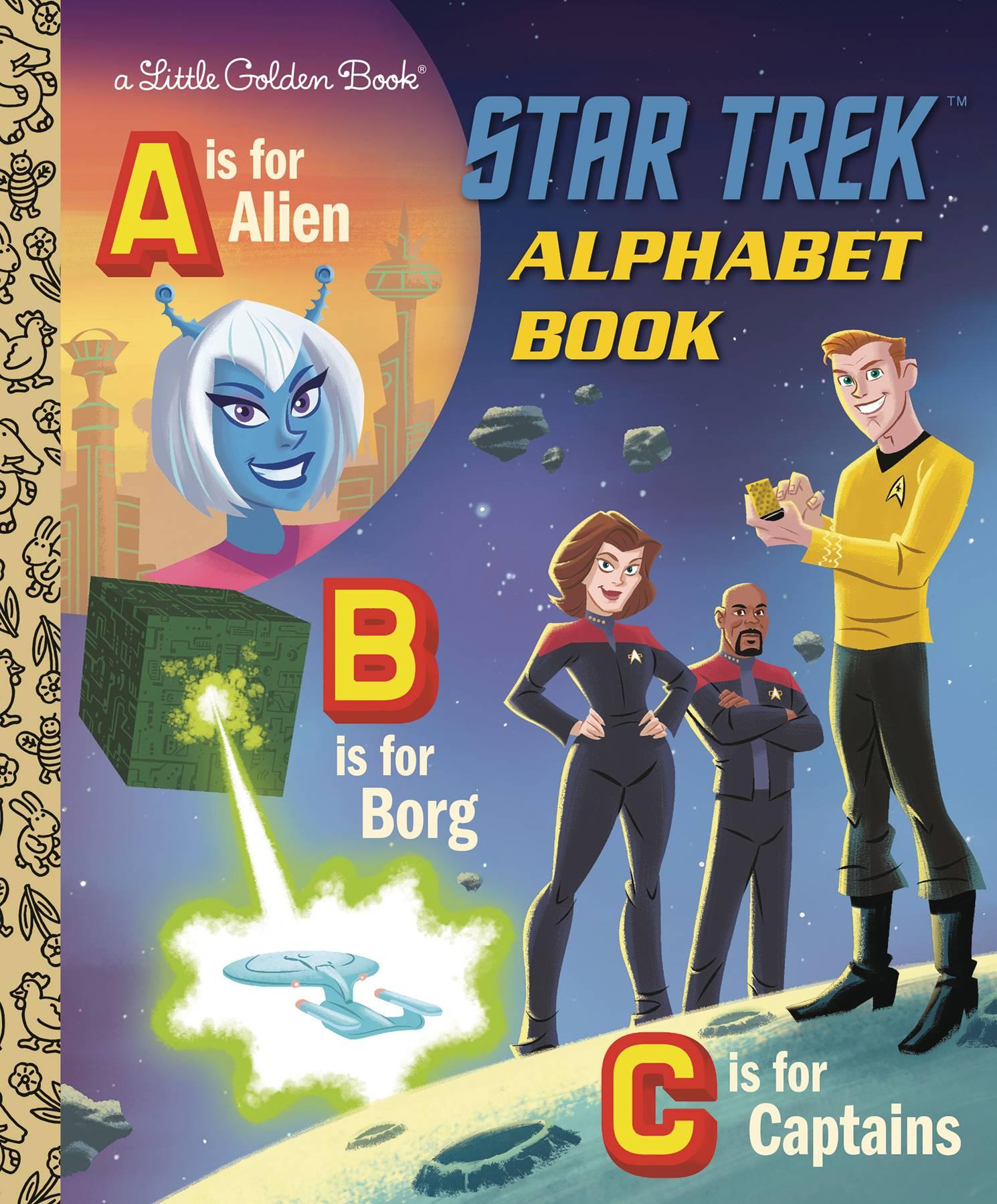 Little Golden Book: Stark Trek Alphabet (2020)