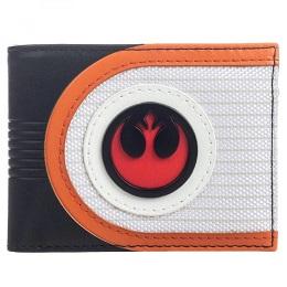 Star Wars Mixed Material Rebel Bi-Fold Wallet