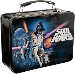 Star Wars A New Hope Large Tin Lunchbox