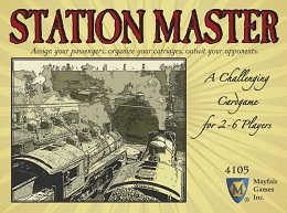 Station Master Board Game