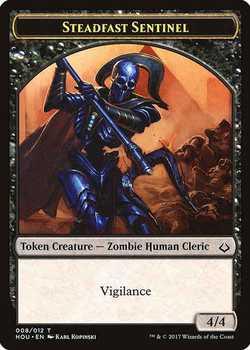 Steadfast Sentinel Token - Black - 4/4