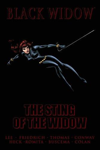 Black Widow: Sting of the Widow HC - Used