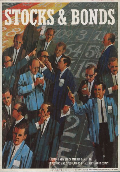 Stocks and Bonds Board Game - USED - By Seller No: 72 Bill Korsak