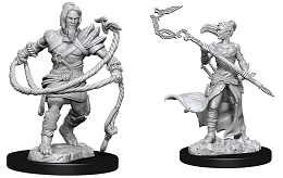 Magic The Gathering Unpainted Miniatures Wave 13: Stoneforge Mystic and Kor Hookmaster