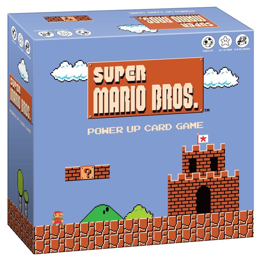 Super Mario Bros: Power Up Card Game