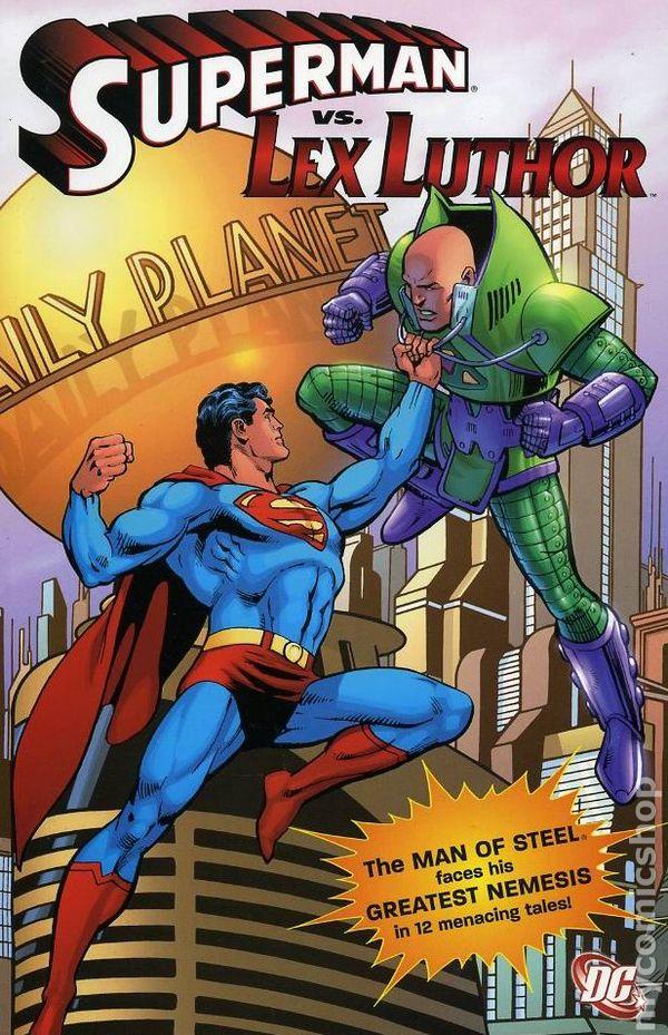 Superman Vs Lex Luthor TP - Used