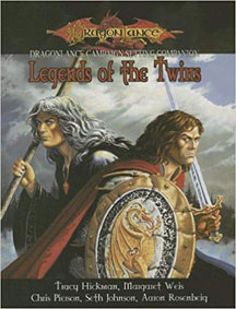 Dungeons and Dragons 3.5 ed: Dragon Lance: Legends of the Twins - USED
