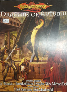Dungeons and Dragons 3.5 ed: Dragon Lance: Dragons of Autumn - USED