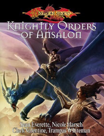 Dungeons and Dragons 3.5 ed: Dragon Lance: Knightly Orders of Ansalon