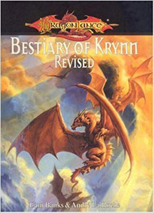 Dungeons and Dragons 3.5 ed: Dragon Lance: Bestiary of Krynn Revised HC - USED