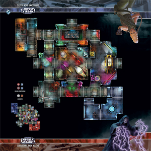 Star Wars: Imperial Assault: Coruscant Back Alleys Skirmish Map