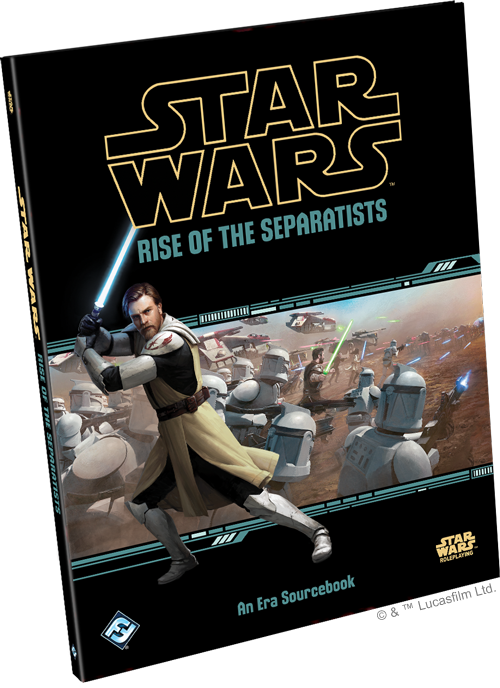 Star Wars RPG: Rise of the Separatists HC