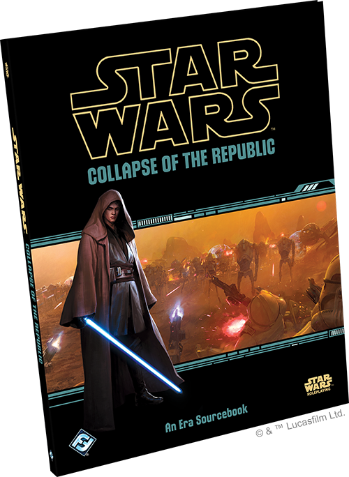 Star Wars RPG: Collapse of the Republic HC
