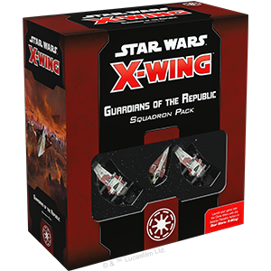 Star Wars: X-Wing 2nd Ed: Guardians of the Republic Squadron Pack