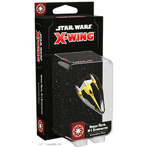 Star Wars: X-Wing 2nd Ed: Naboo Royal N-1 Starfighter Expansion Pack