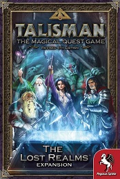 Talisman: The Magical Quest Game: Revised 4th Edition: The Lost Realms