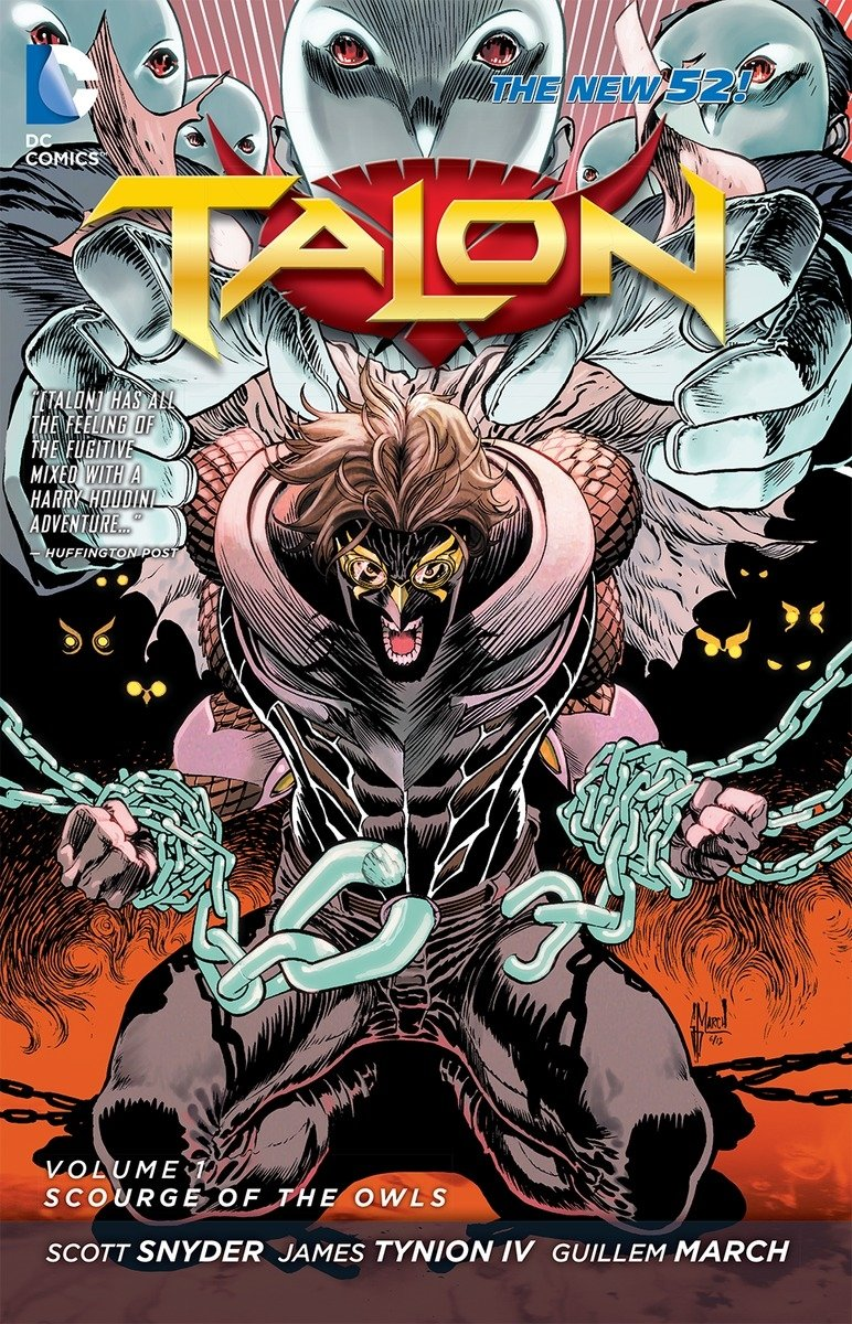 Talon: Volume 1: Scourge of the Owls TP - Used