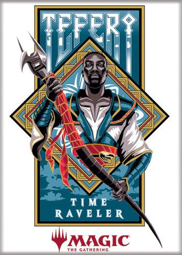 Magic the Gathering Magnet 2.5 X 3.5: Teferi Time Raveler
