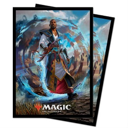 Deck Protector: Magic the Gathering M21: Teferi, Master of Time (V2) (100 Sleeves)