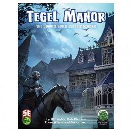 5th Edition Dungeons and Dragons: Tegel Manor Revisited