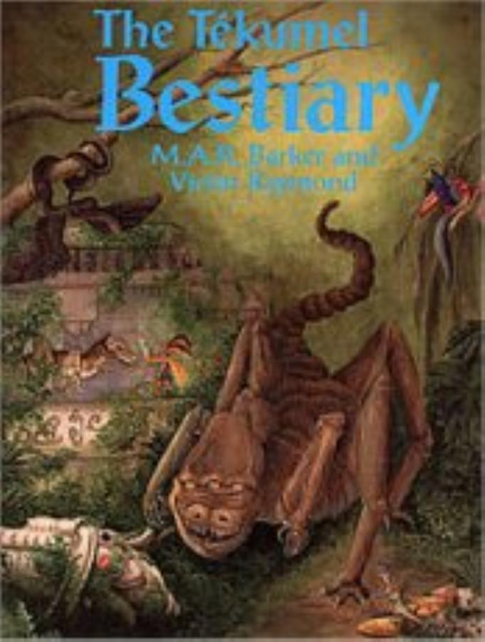 Adventures on Tekumel: The Tekumel Bestiary - Used