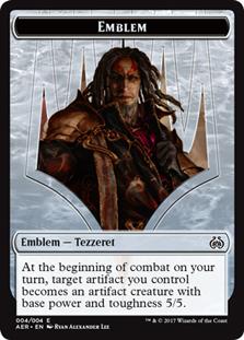 Tezzeret the Schemer Emblem Token