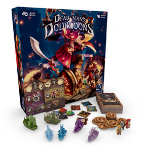 Dead Man's Doubloons Board Game