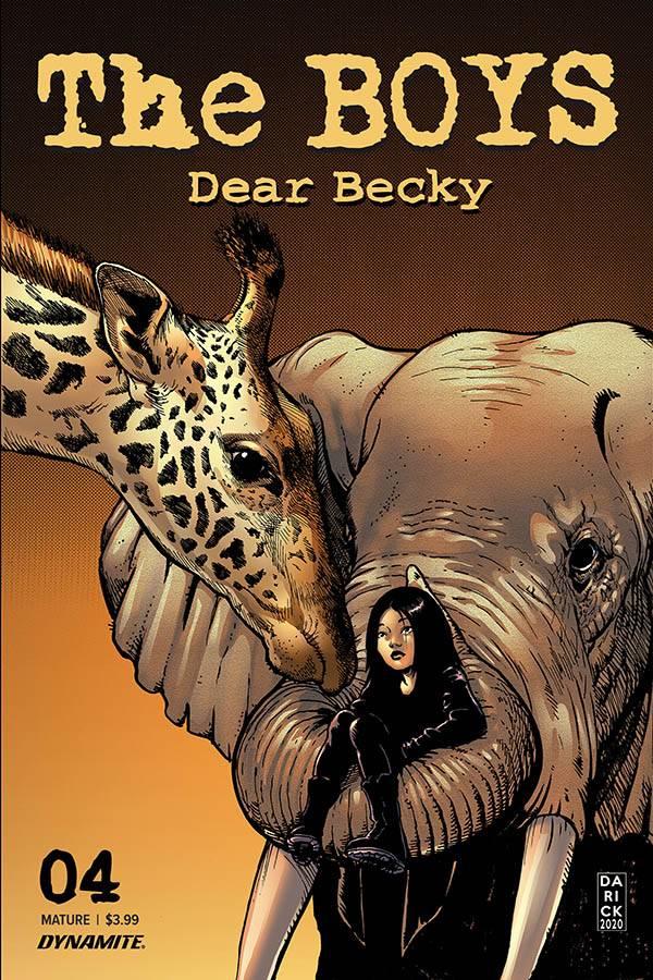The Boys: Dear Becky no. 4  (2020 Series) (MR)