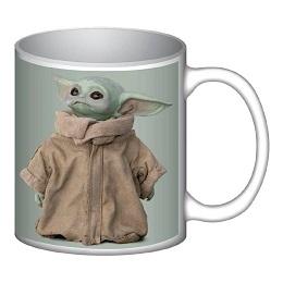 Star Wars Mandalorian: The Child Good Side 12 oz. Ceramic Mug