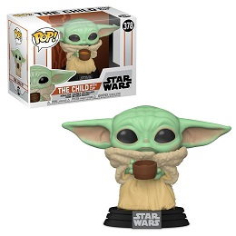 Funko POP: Star Wars: Mandalorian: The Child With Cup