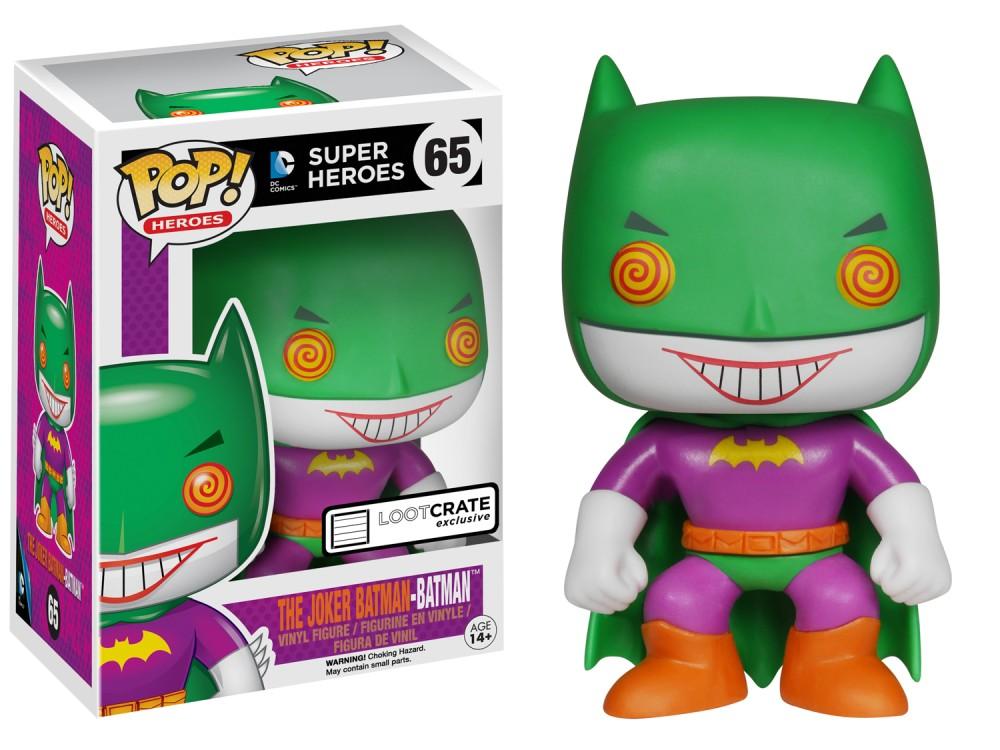 Funko POP: Super Heroes: Batman: The Joker Batman - Used