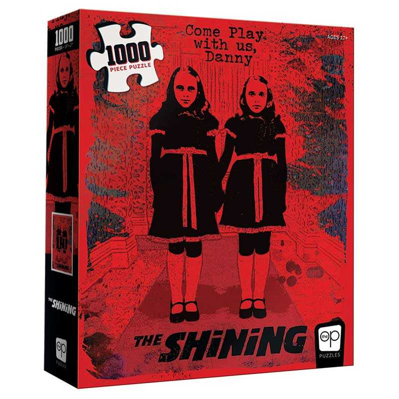"""The Shining """"Come Play with Us"""" Puzzle - 1000 Pieces"""