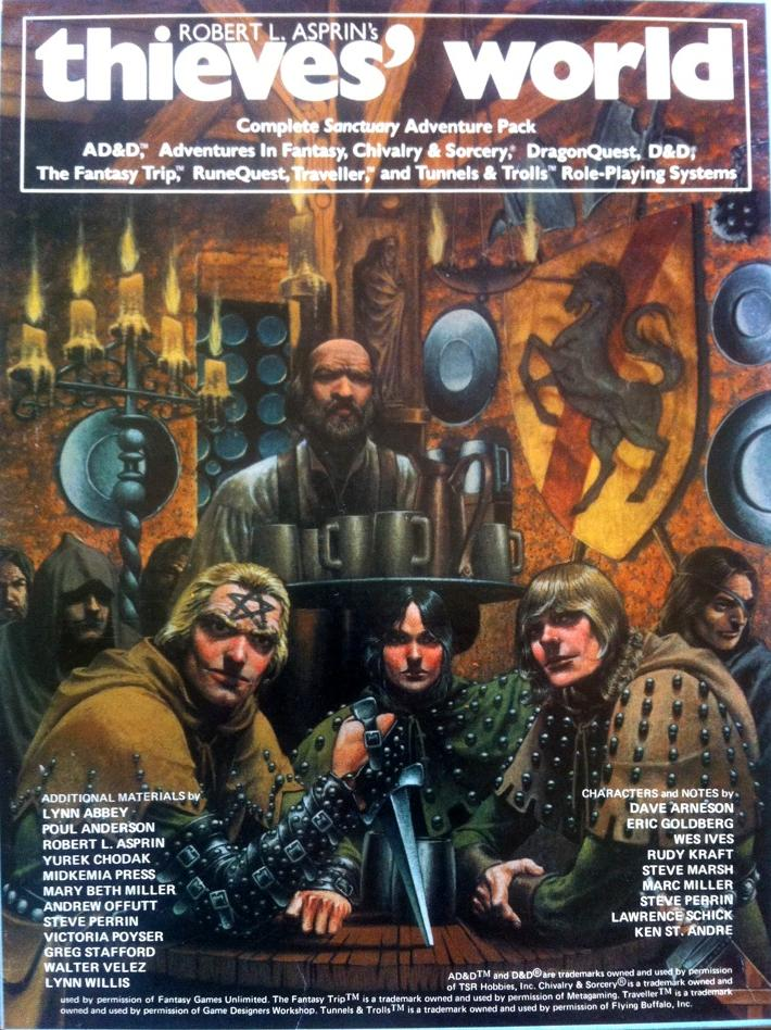 Thieves' World Role Playing Box Set - USED