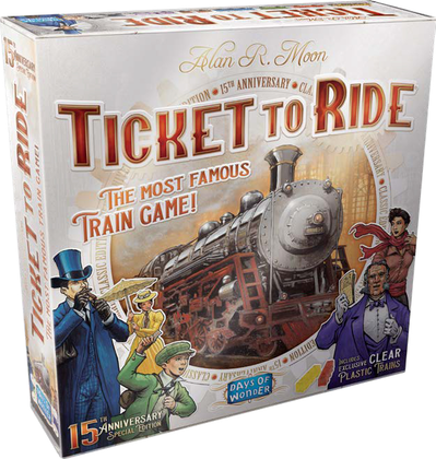 Ticket to Ride: 15th Anniversary Edition Board Game