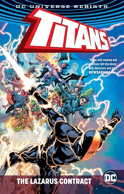 Titans: The Lazarus Contract TP