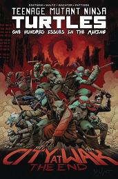 Teenage Mutant Ninja Turtles: City at War The End HC