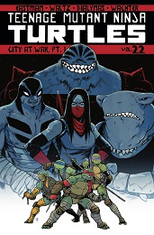 Teenage Mutant Ninja Turtles: City at War Volume 22 Part 1 TP