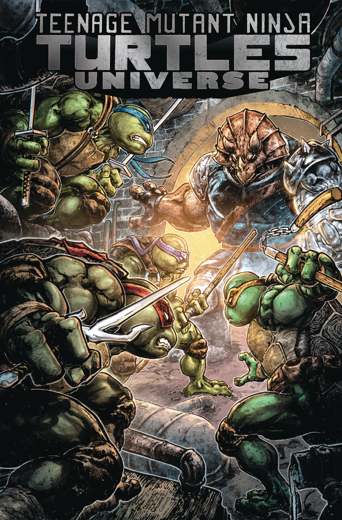 Teenage Mutant Ninja Turtles Universe: Volume 4 TP