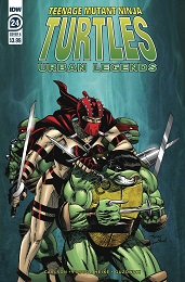 Teenage Mutant Ninja Turtles: Urban Legends no. 24 (2018 Series)
