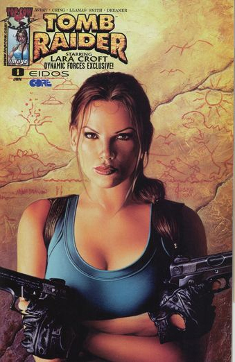 Tomb Raider (1999) No. 1  -  Dynamic Forces Variant Cover (with Certificate) - Used