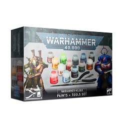 Warhammer 40K: Paints and Tools Set 60-12