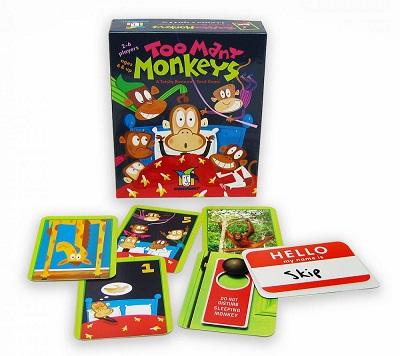 Too Many Monkeys Card Game