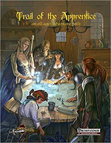 Trail of the Apprentice: an all-ages adventure path HC - USED