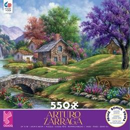 Arturo Zarraga: Tranquility Puzzle - 550 Pieces
