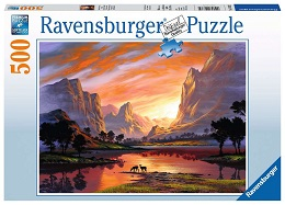 Tranquil Sunset Puzzle - 500 Pieces