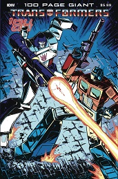 Transformers '84: Legends and Rumors 100 Page Giant (2021)