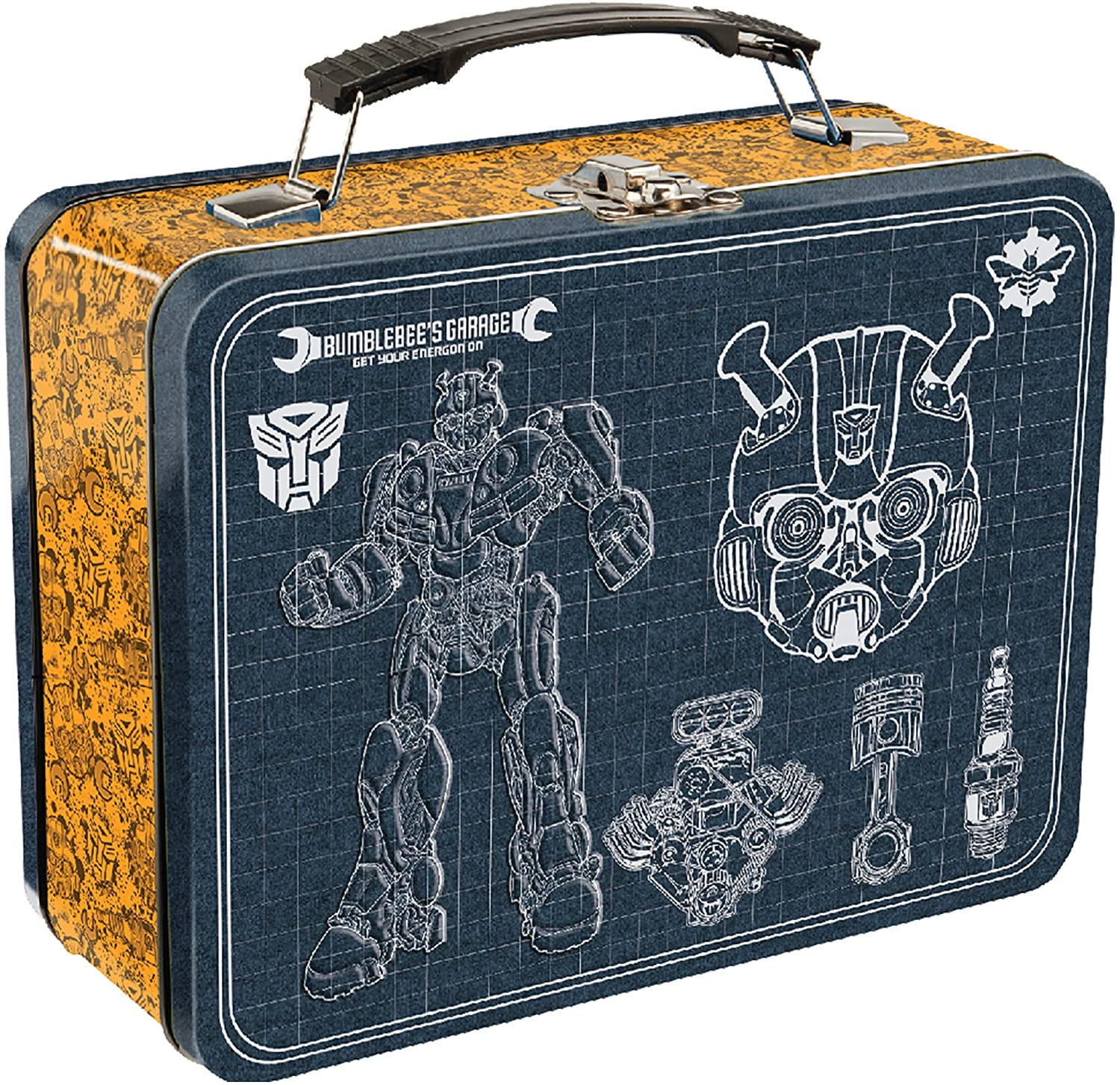 Transformers Bumble Bee Large Tin Lunch Box