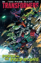 Transformers 100 Page Giant: Power of the Predacons (2020)
